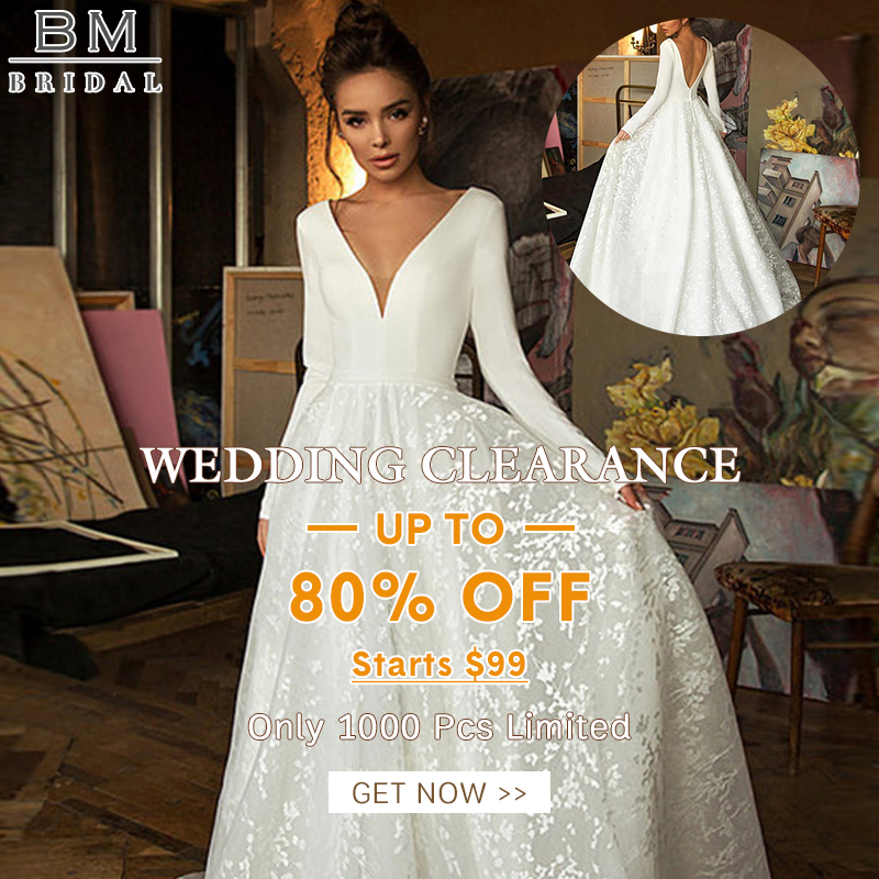 wedding clearance