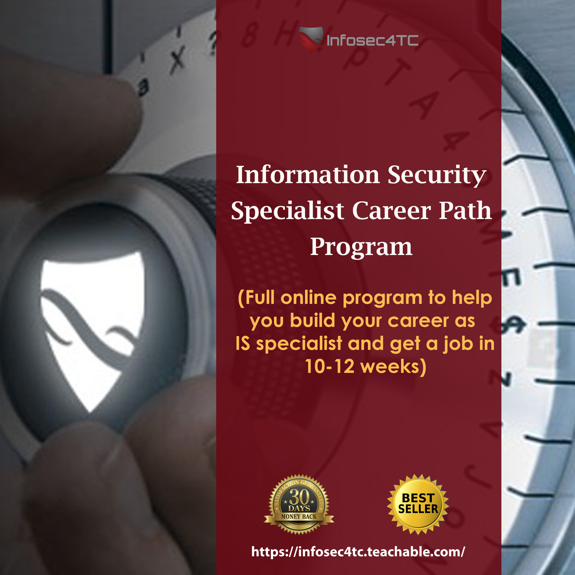 Build your career as Information Security Specialist