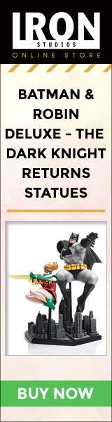 Batman & Robin Deluxe - The Dark Knight Returns Statues