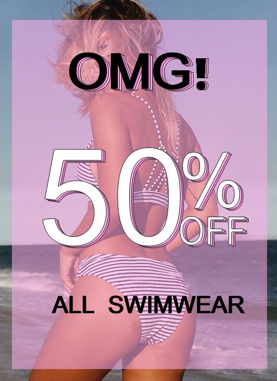 Buy 1 Get 1 Free for all swimwear