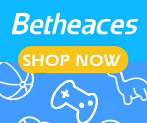 Betheaces kids toys banner