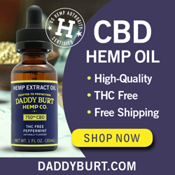 Daddy Burt's CBD Oil