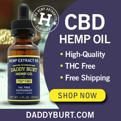 Daddy Burt's CBD Oil