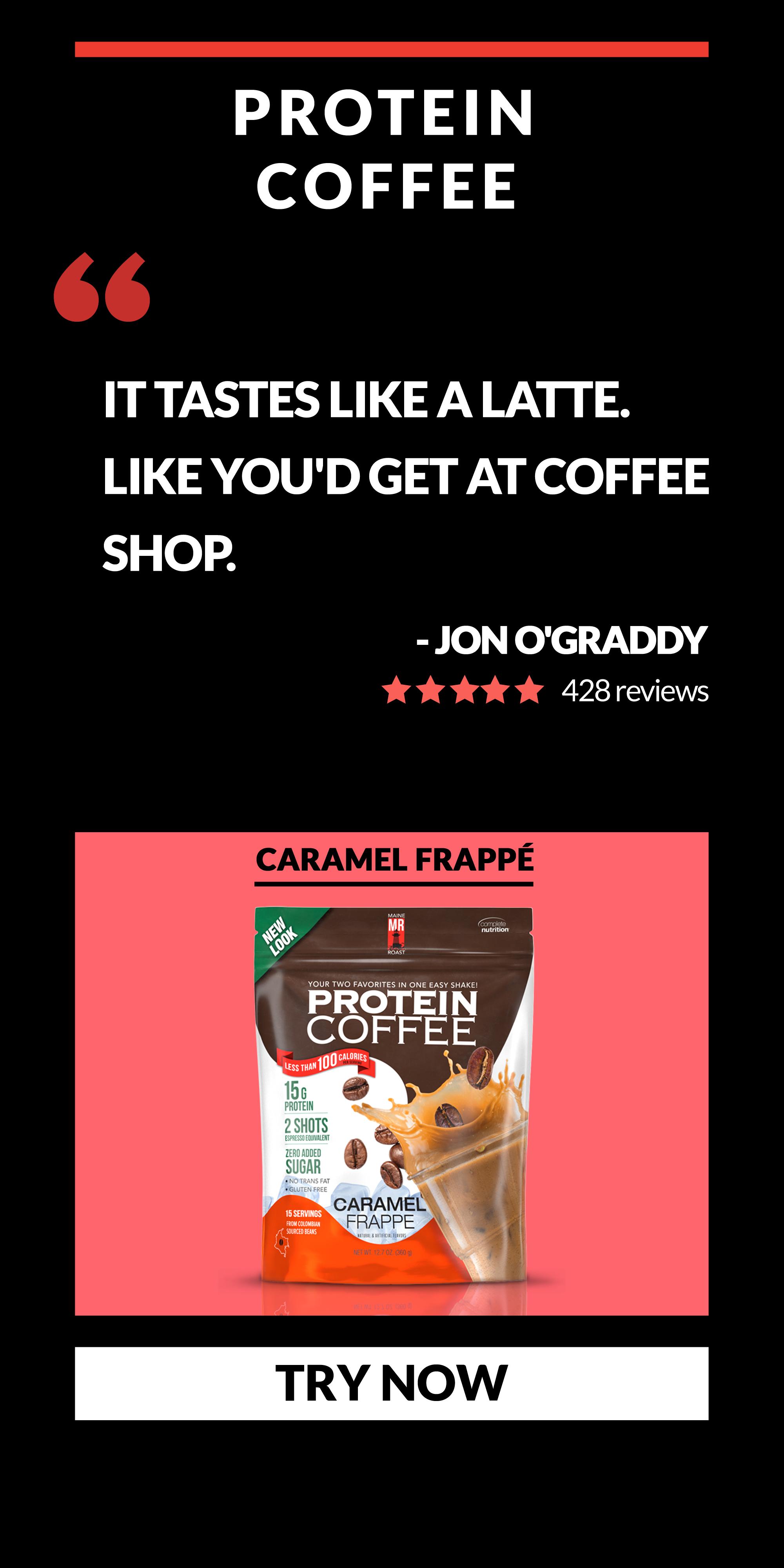 Protein Coffee Testimonial