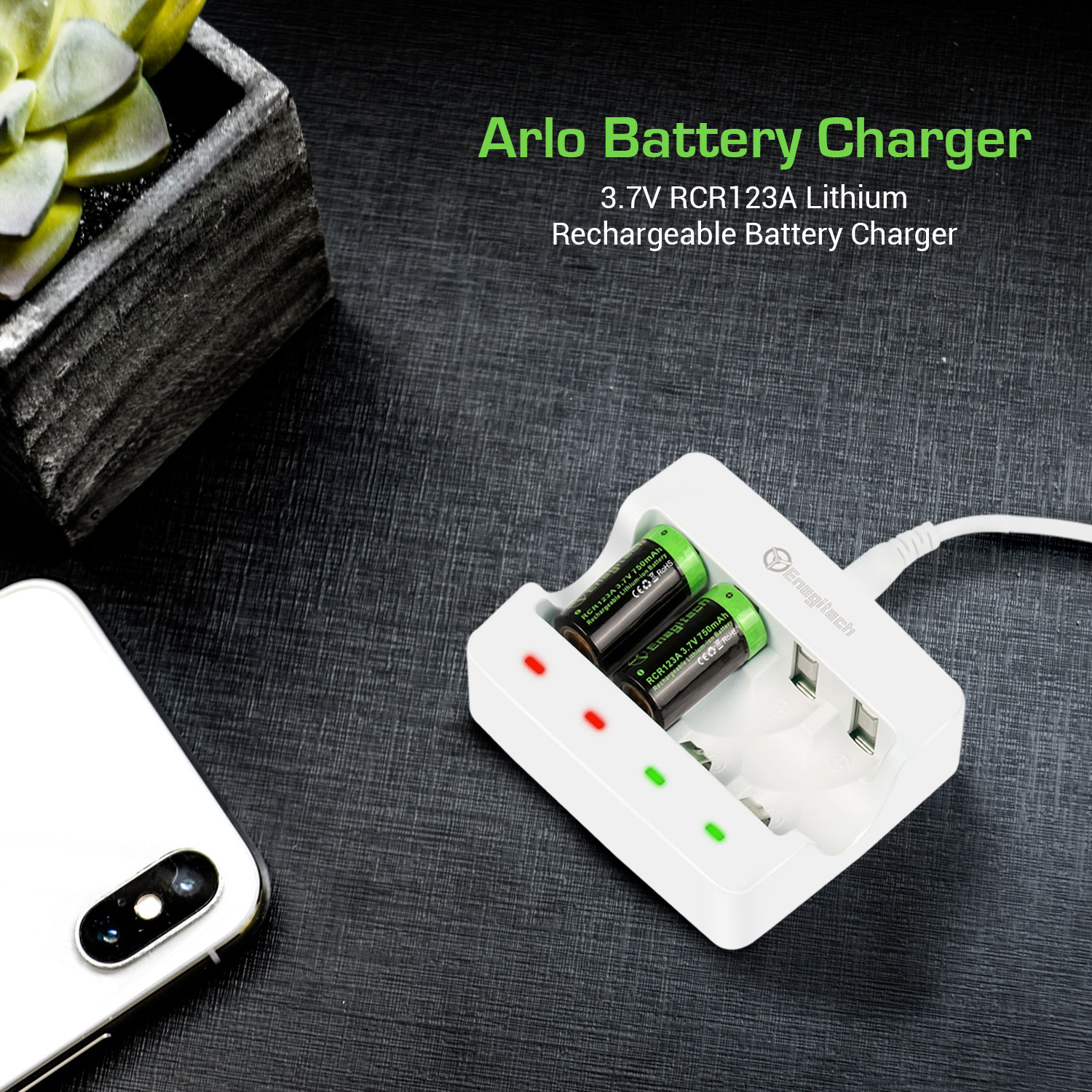 Rechargeable battery and charger