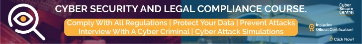 Cybersecurity and Legal Compliance Course