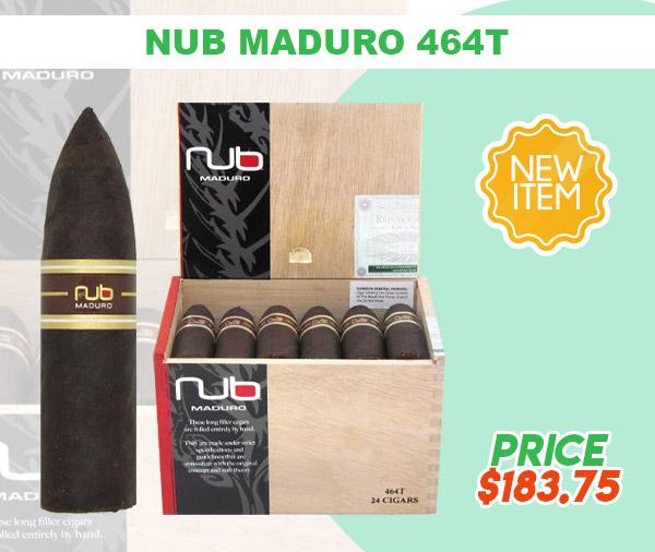 NEW ITEM! NUB MADURO 464T