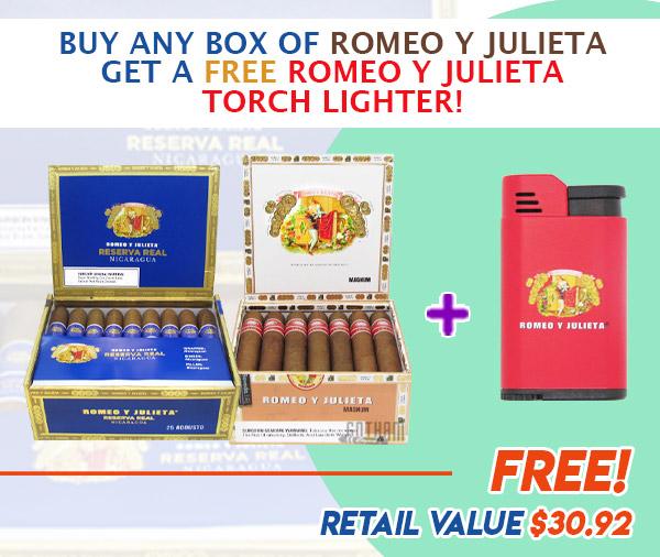 romeo y julieta email june 2021 - Buy Any Box of Romeo Y Julieta Get a Free Romeo Y Julieta Torch Lighter!