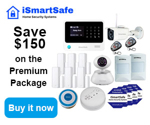 iSmartSafe Security System Premium Package