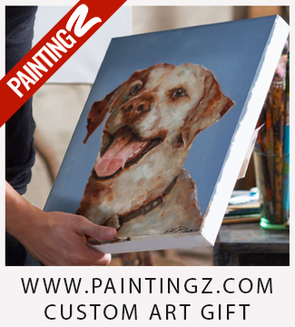 PaintingZ.com - Custom and Unique Art Gift with Impressionistic Style