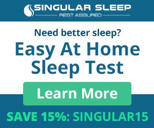 Need Better Sleep? Easy At Home Sleep Test - Save 15%