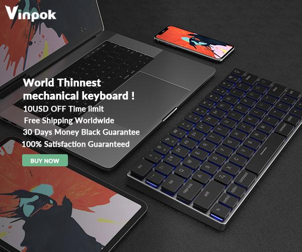 vinpok-taptek-thinnest-wireless-mac-mechanical-keyboard