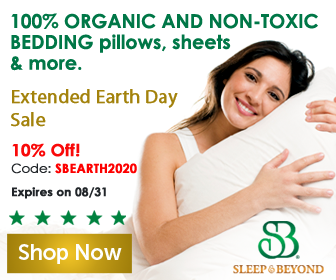100% organic and non-toxic bedding