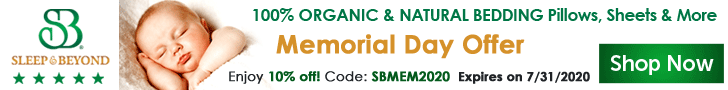 100% organic and natural bedding