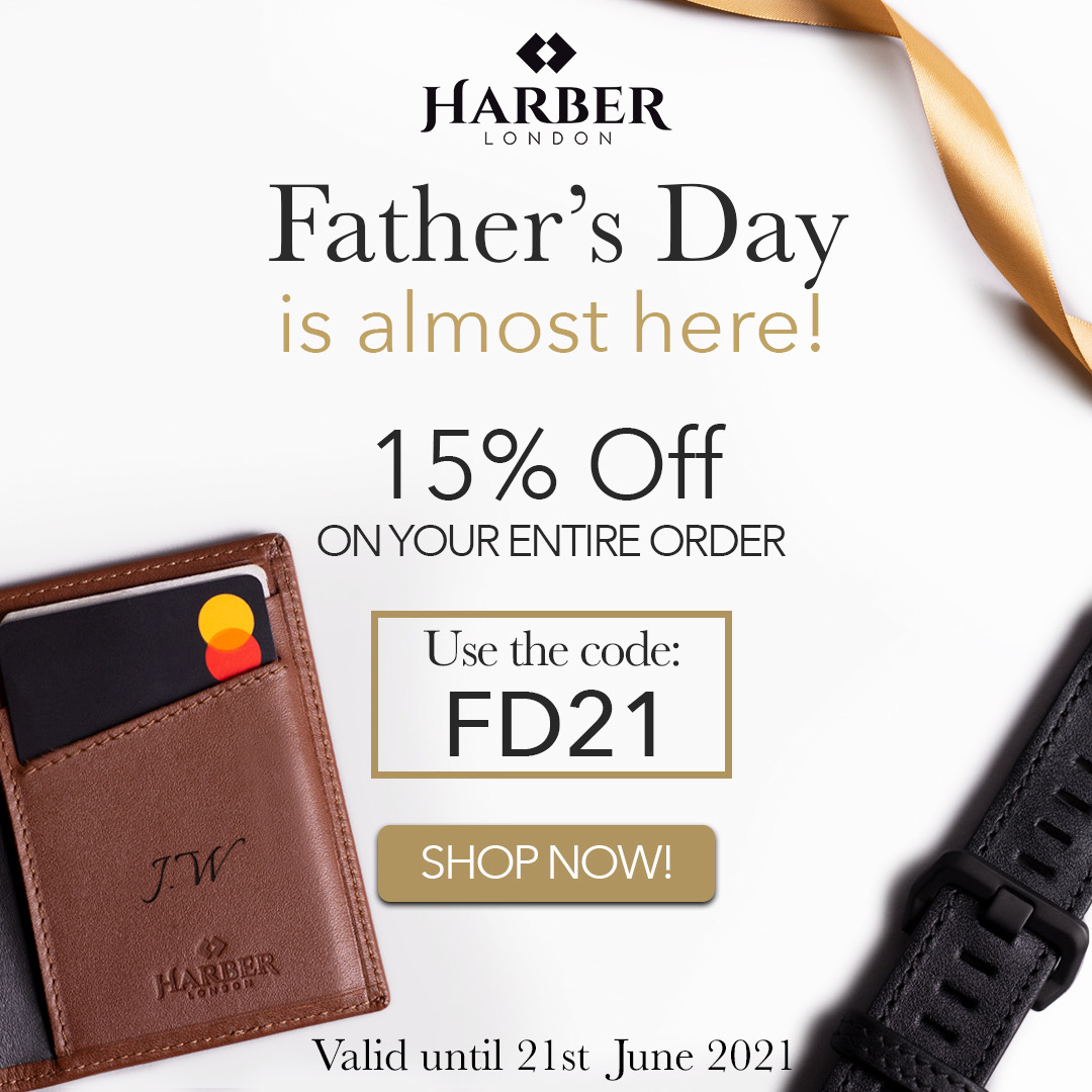 Fathers day gifts Harber London 18 - Father's Day 2021