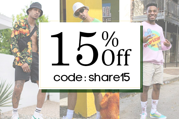Get 15% Off for Orders over $60