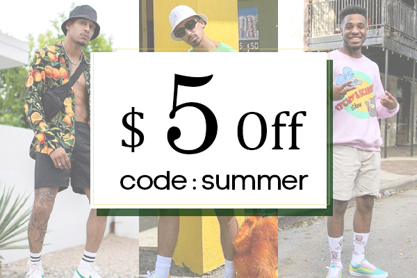Get $5 Off for Orders over $50