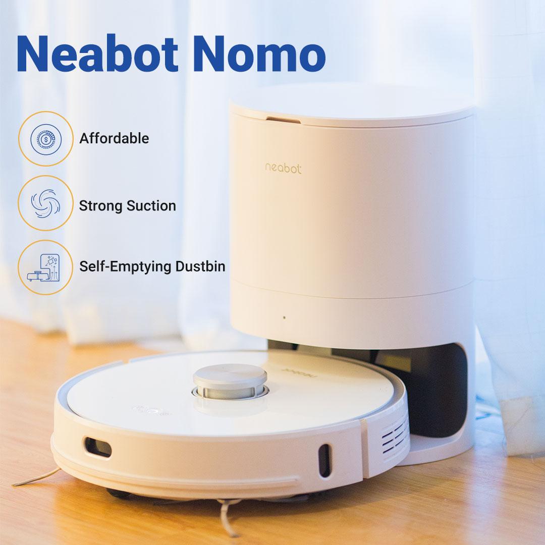 Hands-free Robot Vacuum