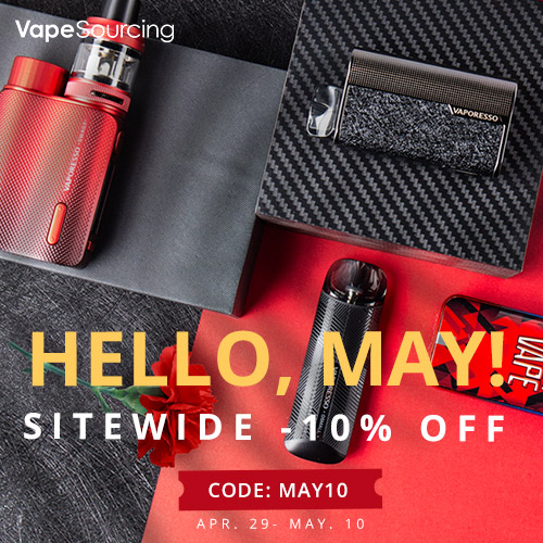 Vapesourcing May Day Sale