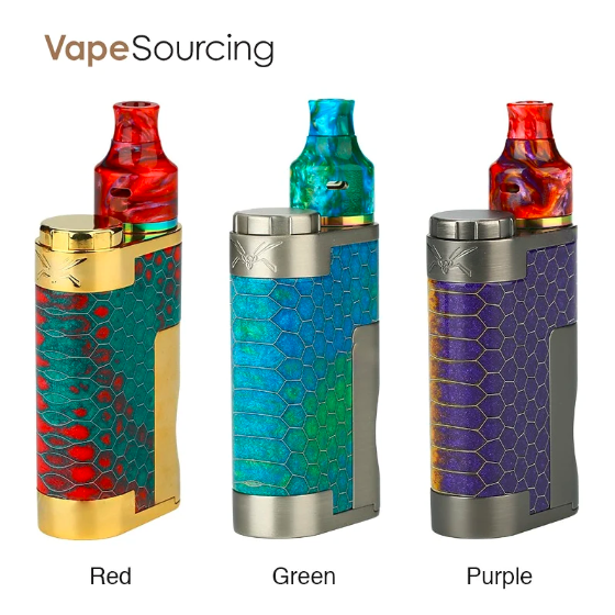 vapesourcing.com - 24.59% off for Oumier Wasp Nano Squonk Kit 80W With Nano RDA, only $18.09