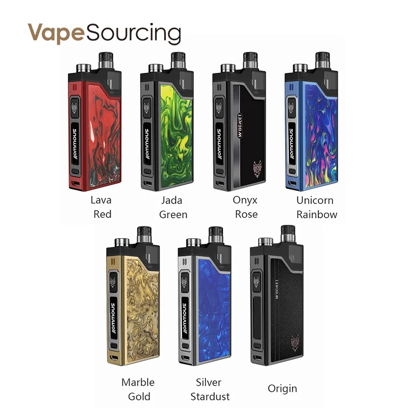 vapesourcing.com - 37.88% off for SnowWolf WOCKET Pod System Kit, only $8.69