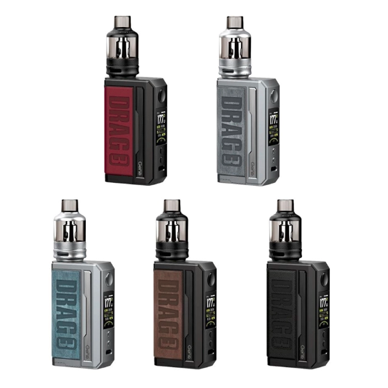 vapesourcing.com - 28.45% off for VOOPOO Drag 3 Kit 177W with TPP Pod Tank, only $41.49