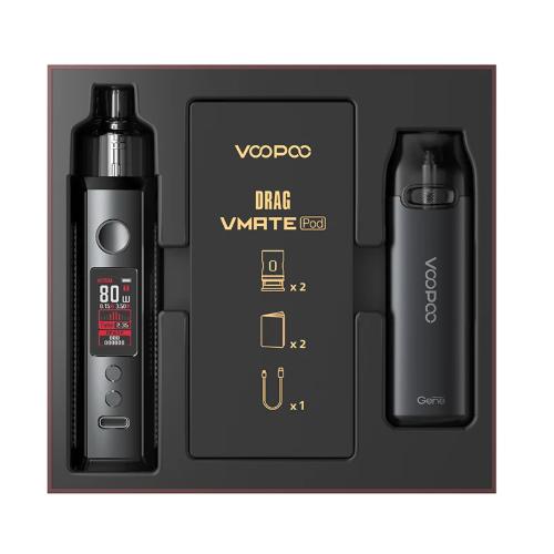 vapesourcing.com - 26.32% off for VOOPOO Drag X/Drag S & Vmate Pod Gift Set Limited Edition, only $27.99
