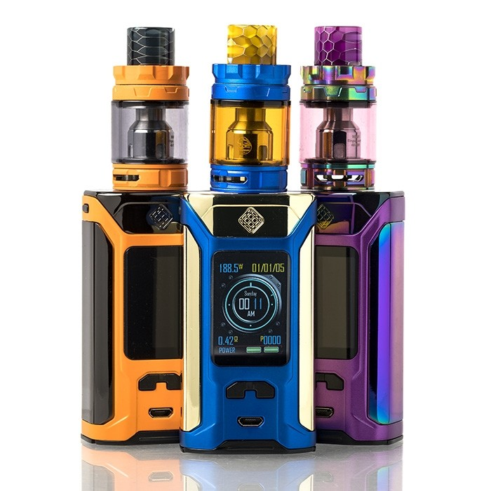 vapesourcing.com - $31.99 for Wismec SINUOUS RAVAGE230 Kit with GNOME King Tank