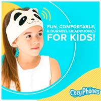 CozyPhones Fun Comfortable and durable headphones for kids
