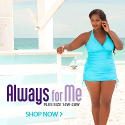 Plus Size Swimsuits - Always For Me