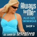 As Seen in Seventeen - plus size tankini