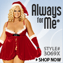 Always For Me Sexy Plus Size Holiday Lingerie