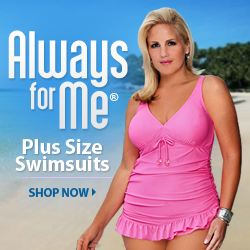 Always For Me Chic Plus Size Swimsuits