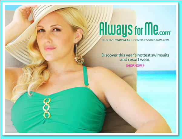 Always For Me Plus Size Swimsuits - 2014