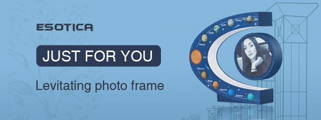 levitating photo frame