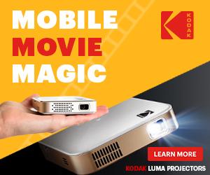 Kodak Luma Portable Projectors
