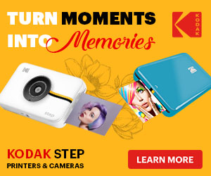 Kodak Step Instant Print Cameras and Printers