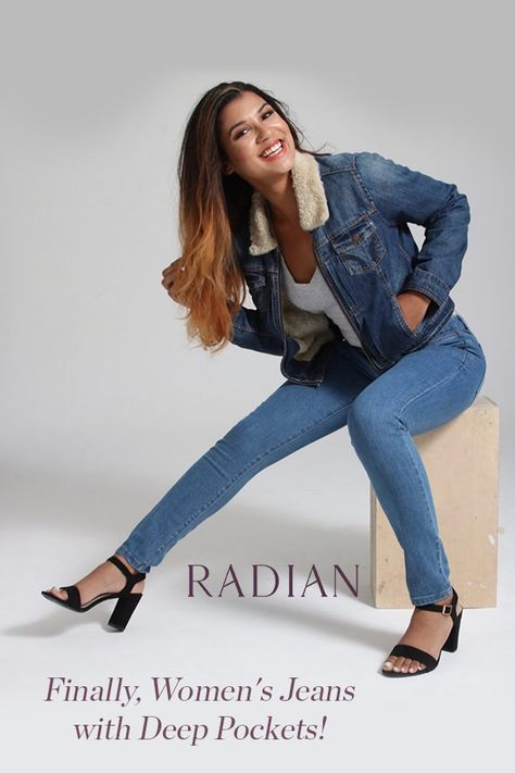 Radian Jeans - with Deep Pockets