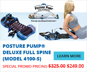 Posture Pump® Deluxe Full Spine (Model 4100-S)