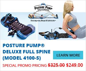 Posture Pump® Deluxe Full Spine (Model 4100-S)