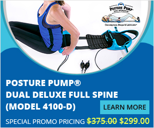 Posture Pump® Dual Deluxe Full Spine (Model 4100-D