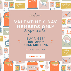 Subscribers Only! – Buy One Get One 15% Off + Free Shipping on our Members Only Shop Items