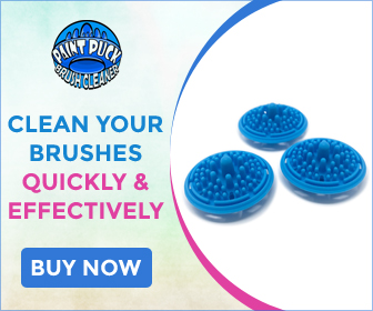 Clean Your Brushes Quickly and Effectively