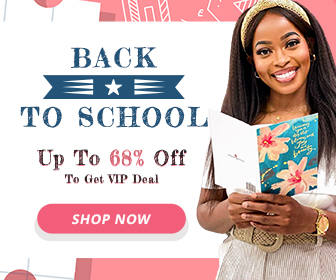 Back to School, Up to 68% Off to Get VIP Deal!