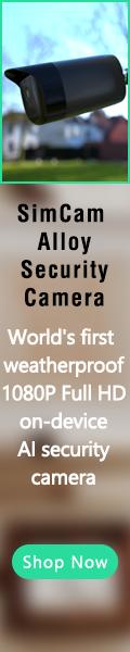 SimCam AIloy Outdoor Security Camera