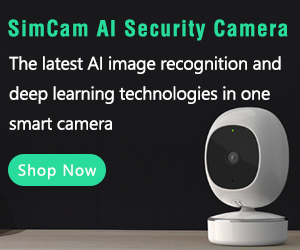 SimCam 1S AI Security Camera