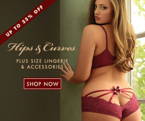 Shop Hips & Curves for the hottest plus size lingerie at up to 25% off!