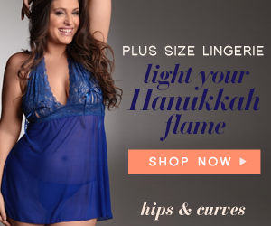 plus size hanukkah lingerie
