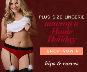 plus size christmas lingerie