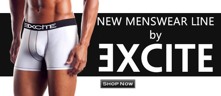 New Menswear Line by Excite